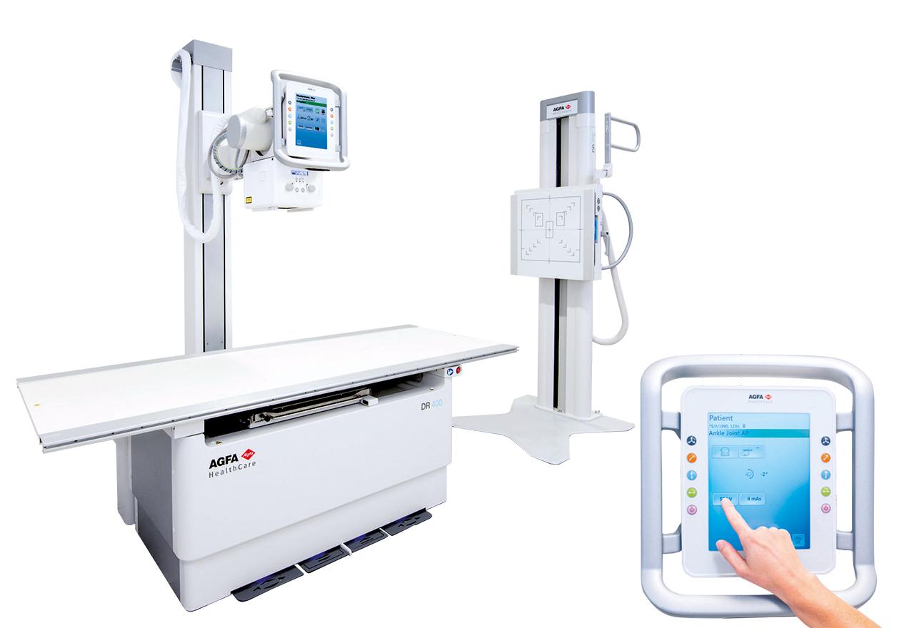Agfa Radiology Solutions baut seine umfassenden Systemlösungen für digitales Röntgen weiter aus